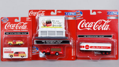 Coca-Cola Collectibles: Vehicles, Billboards and Soda Machines