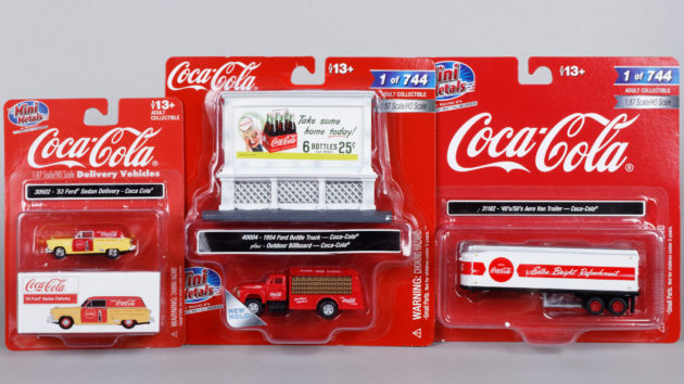 Coca-Cola Collectibles: Vehicles, Billboards and Soda Machines
