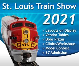St. Louis Train Show Nov. 6, 2021